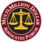 Austin Personal Injury Lawyer certified as Multi-Million Advocate Forum