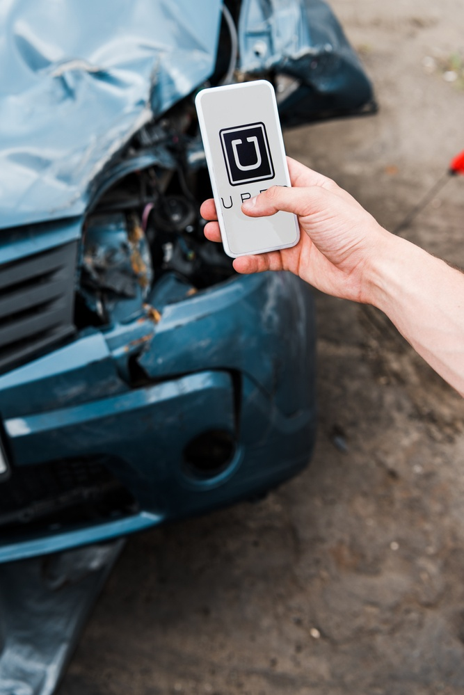Call our Houston Uber Accident Lawyer