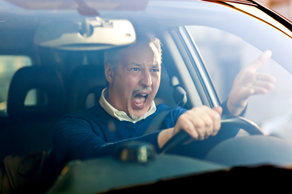 Aggressive Driving Accident Caused by Road Rage