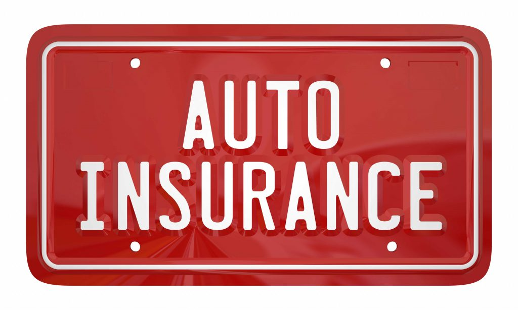 Auto Insurance Sign.  Austin Car Accident Lawyers can help navigate an insurance claim