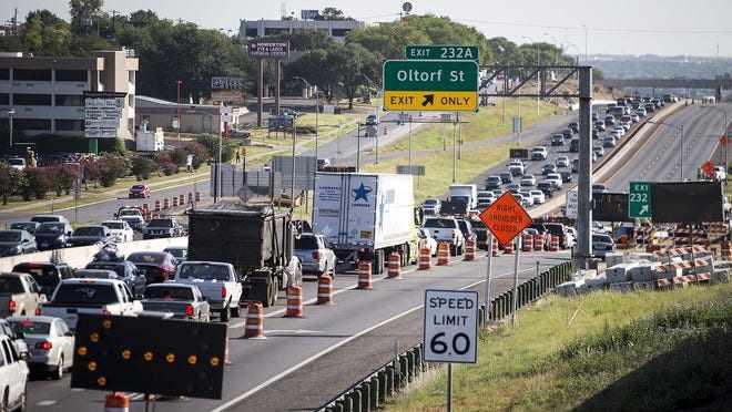 Traffic Accident on I35 Austin Texas