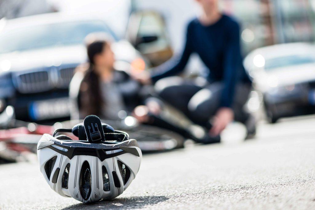helmet on Austin Road